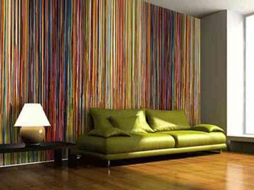 C mo limpiar el papel pintado de tus paredes - Como limpiar paredes ...
