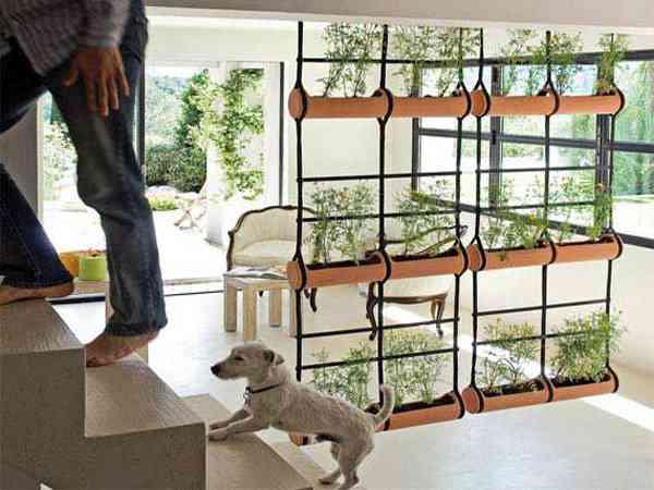 Dos ideas para separar ambientes - Biombos y separadores de espacios ...