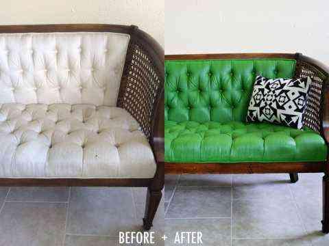 sofa pintado
