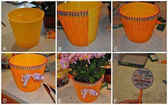 tutorial como decorar maceta