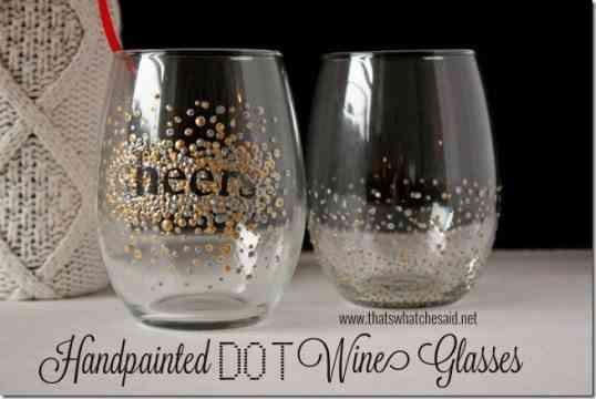 vasos de cristal renovados
