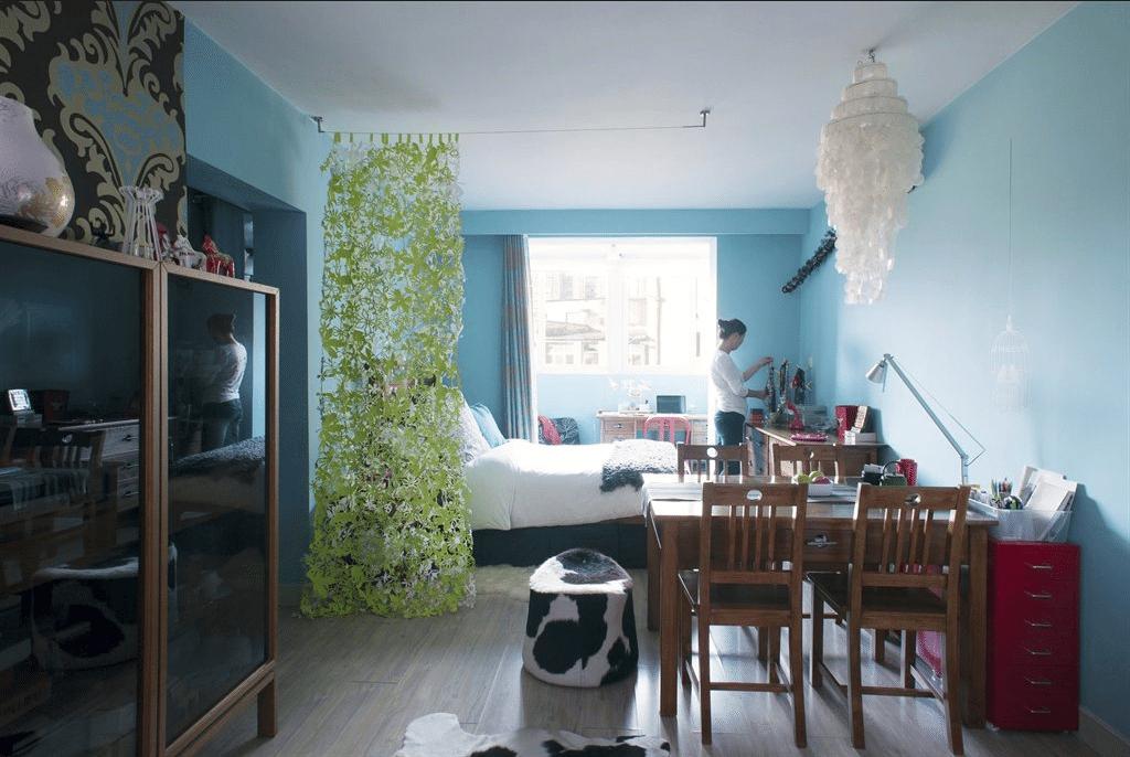 vista general - vivir en una habitacion