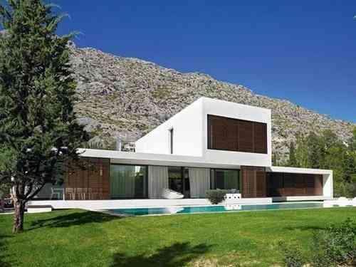 5 ejemplos de casas de decoraci n minimalista for Decoracion de casas minimalistas fotos