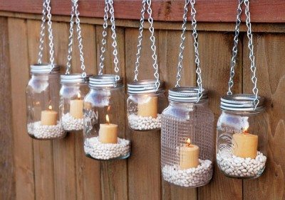 decorar con botellas recicladas