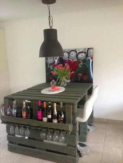 decorar con palets reciclados