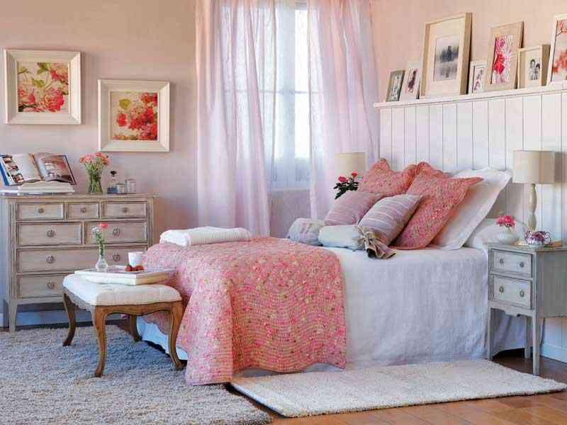Decorar un dormitorio de mujer con mucho estilo - Imagenes para dormitorios ...