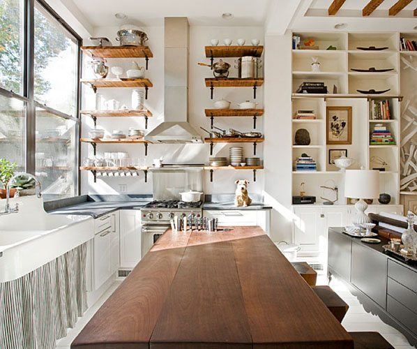 estanterias cocina