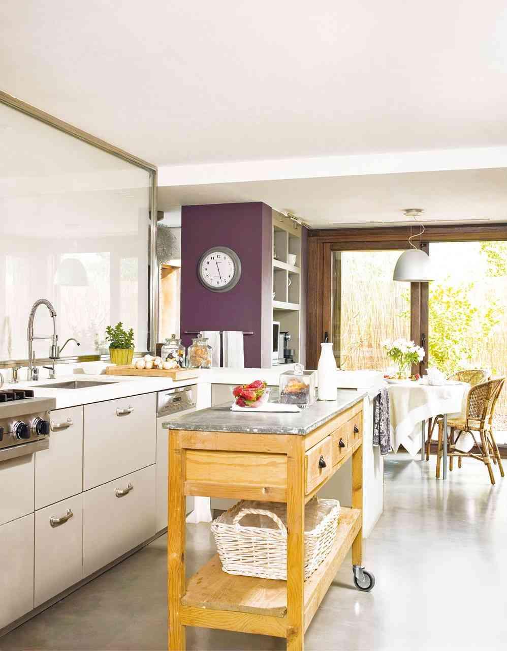 Encuentra la isla perfecta para tu cocina - Mesa cocina vintage ...