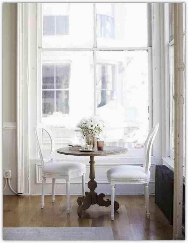 La tendencia de decoración Soho en un loft blanco 1