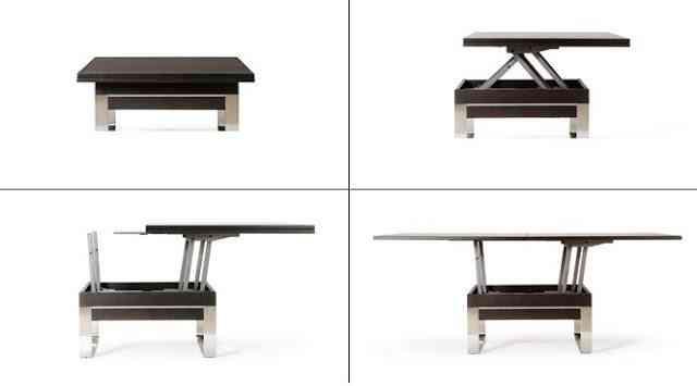 2 tipos de mesas para espacio peque os - Mesas de centro para espacios pequenos ...