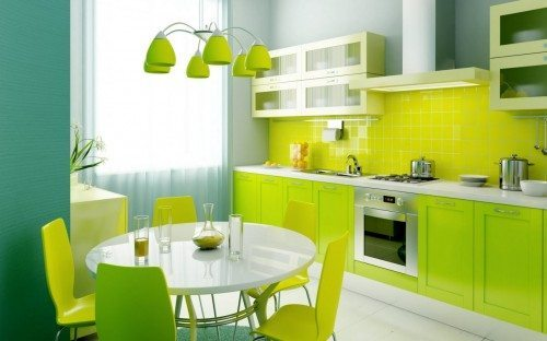 Colores apropiados para tu cocina
