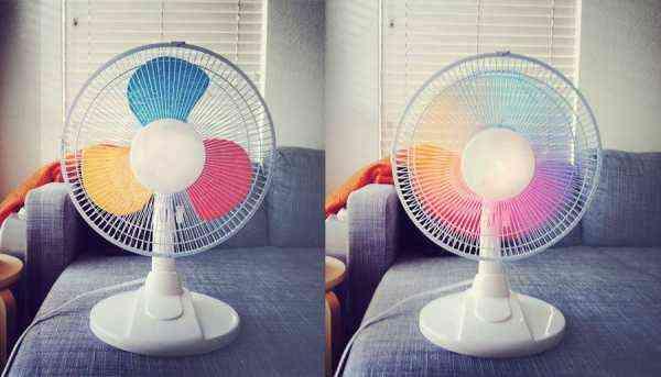 renovar ventilador con pintura