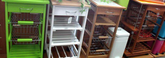 Novedosos muebles auxiliares
