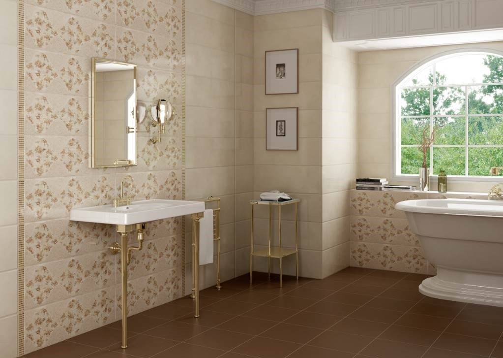 baño de estilo romántico