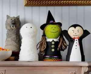 maceteros de halloween