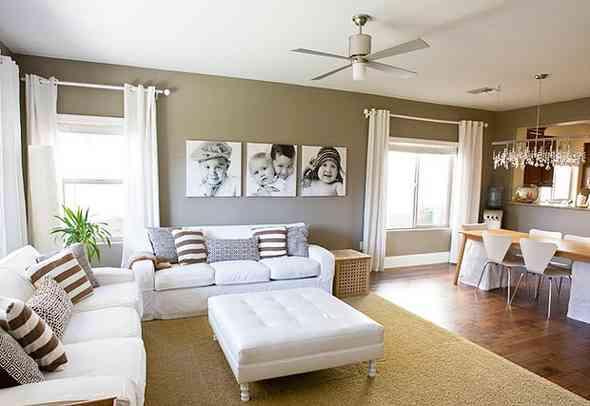decorar un salon moderno