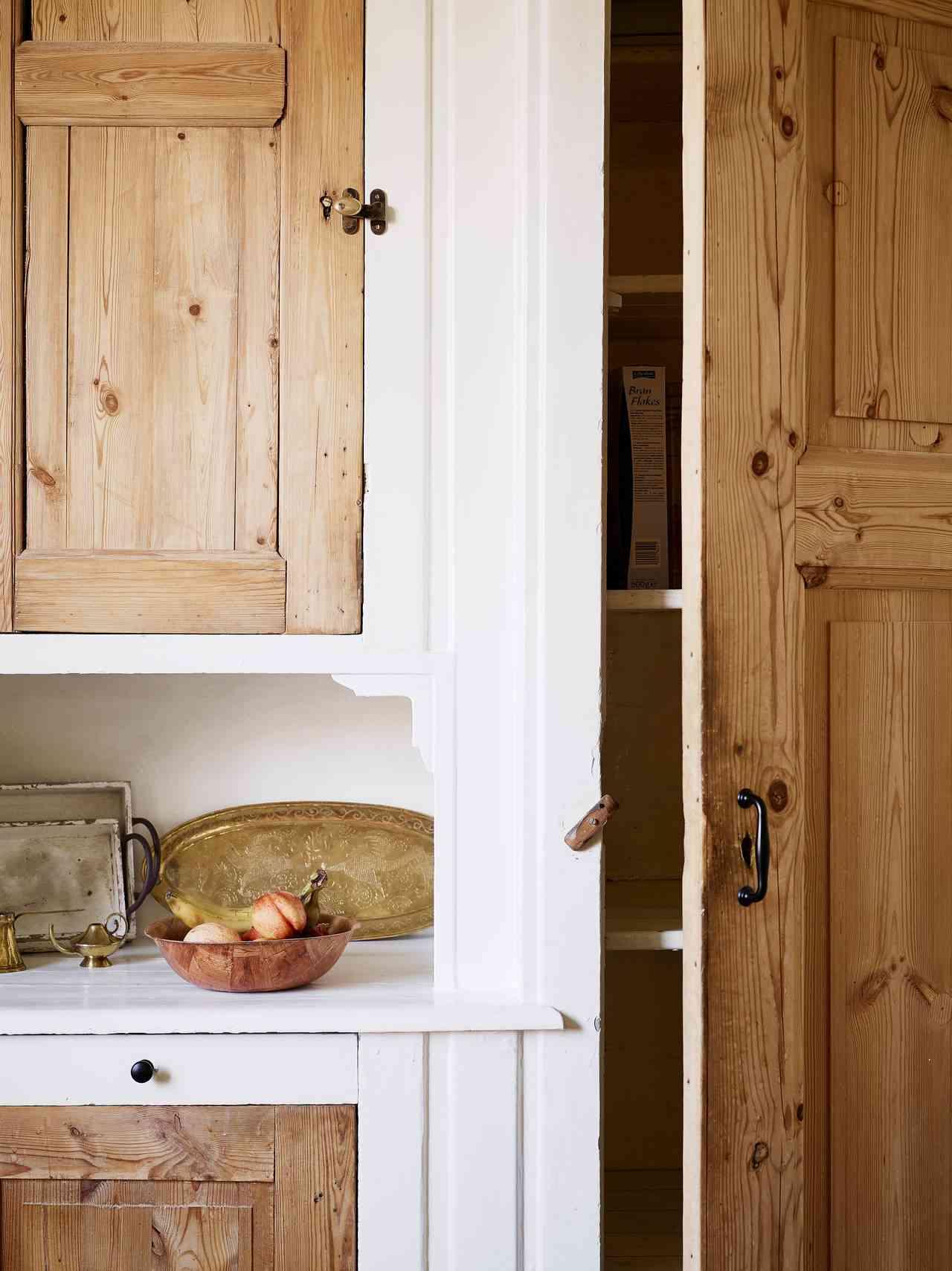 apartamento 32 metros - detalles de madera