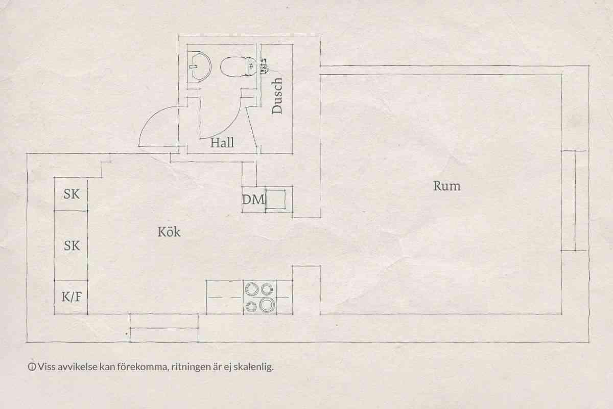 apartamento 32 metros - plano