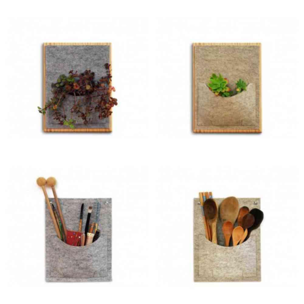 Bolsillos de fieltro - fabricado en España - savia