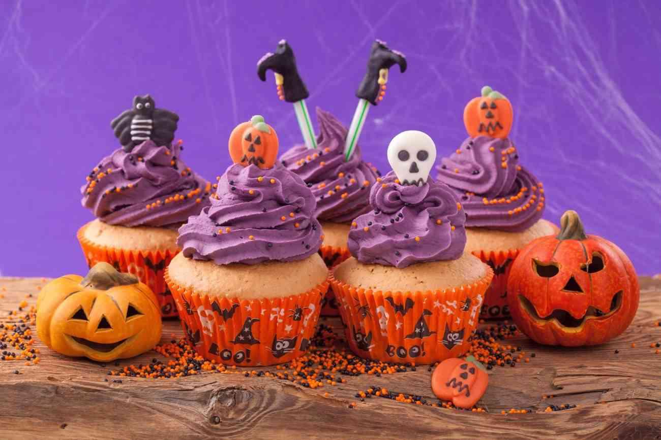 Chuches de Halloween - cupcakes