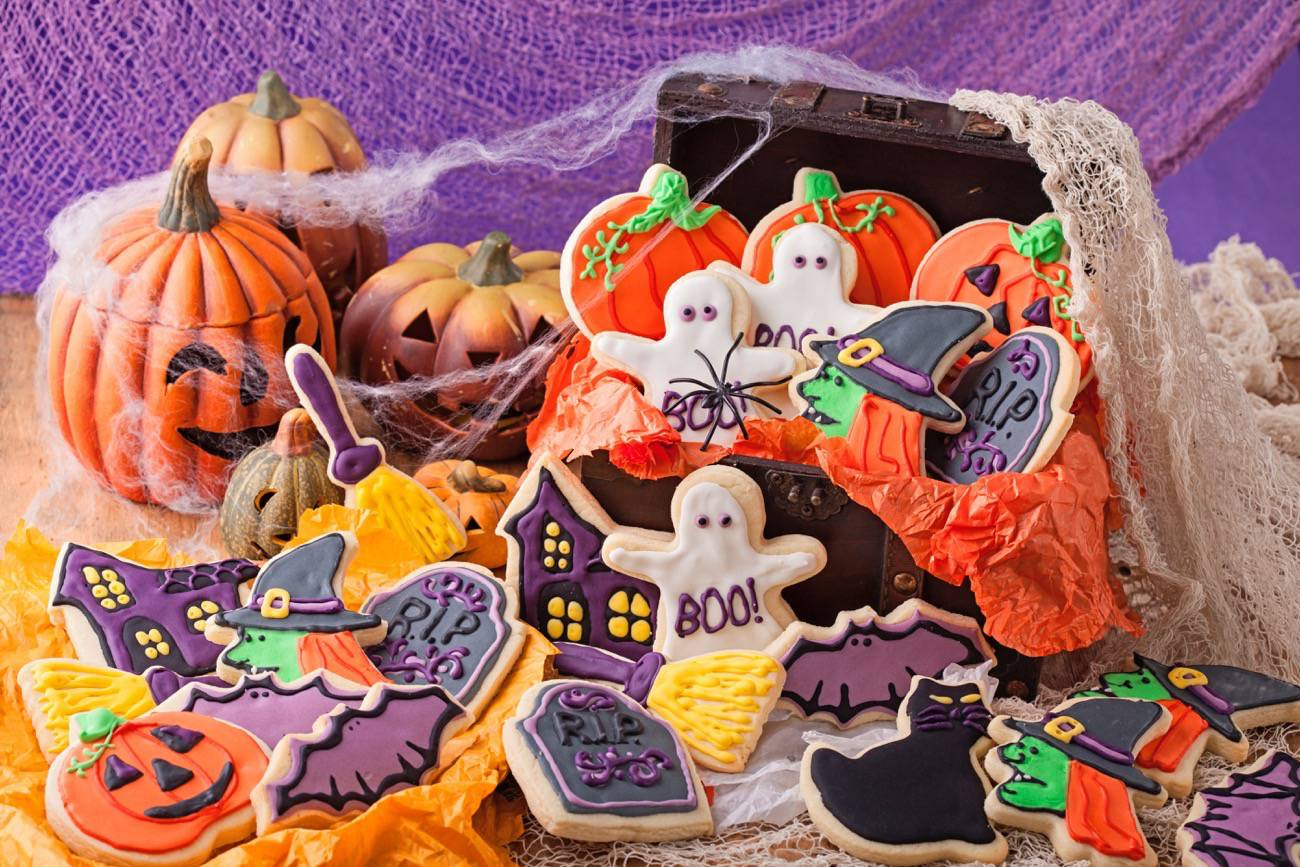 Chuches de Halloween - galletas de halloween