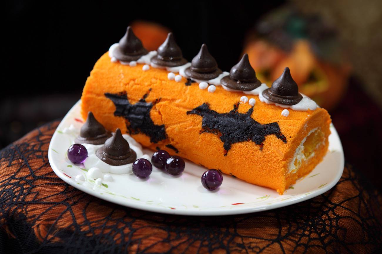 Chuches de Halloween - tarta de halloween