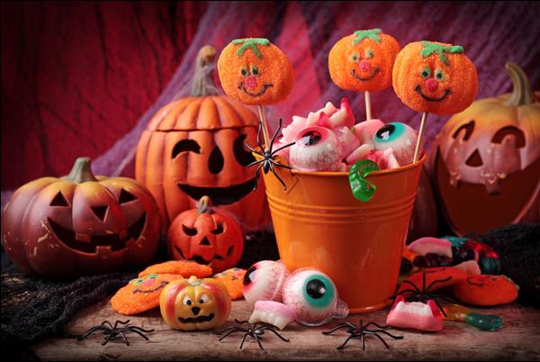chucherías de halloween