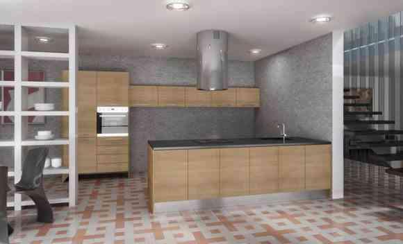 Diferentes materiales para el acabado de la cocina - Materiales de cocinas ...