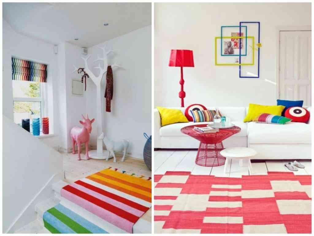 Muebles de sal n con colores vivos for Marmol translucido de colores vivos