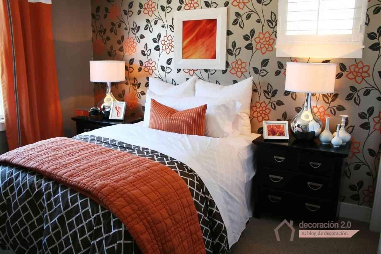 Ideas simples para revolucionar tu habitaci n for Decoracion blanco negro rojo