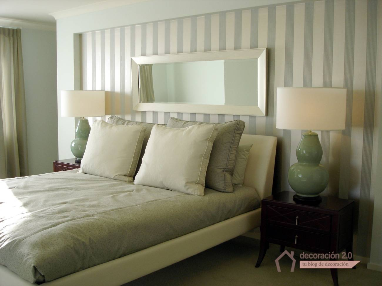 Ideas simples para revolucionar tu habitaci n for Ejemplo de dormitorio deco