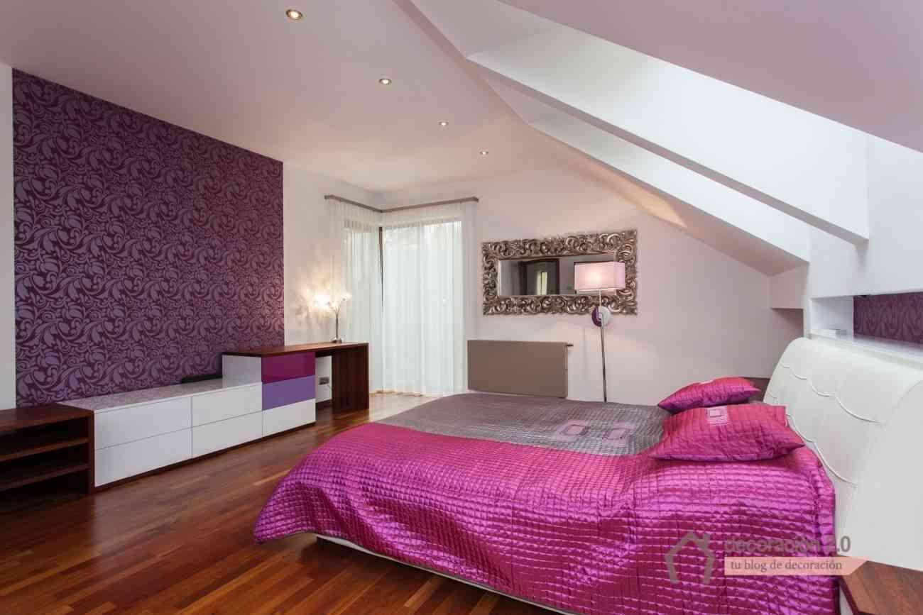DECORACION - dormitorio rosa estilo rococo - dp