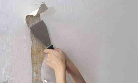 eliminar el papel pintado
