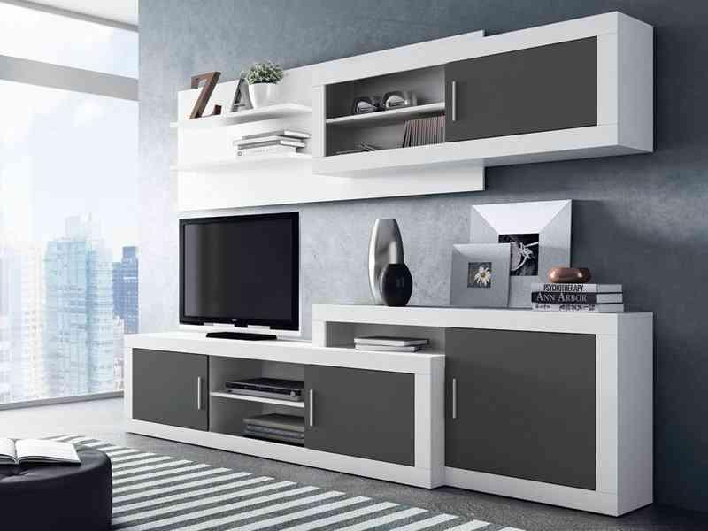 Descubre 4 estilos de muebles modulares para el sal n - Muebles bajos para salon ...