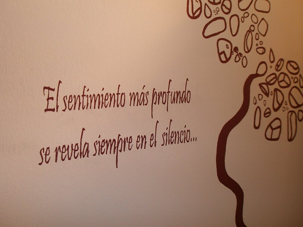 pared decorada