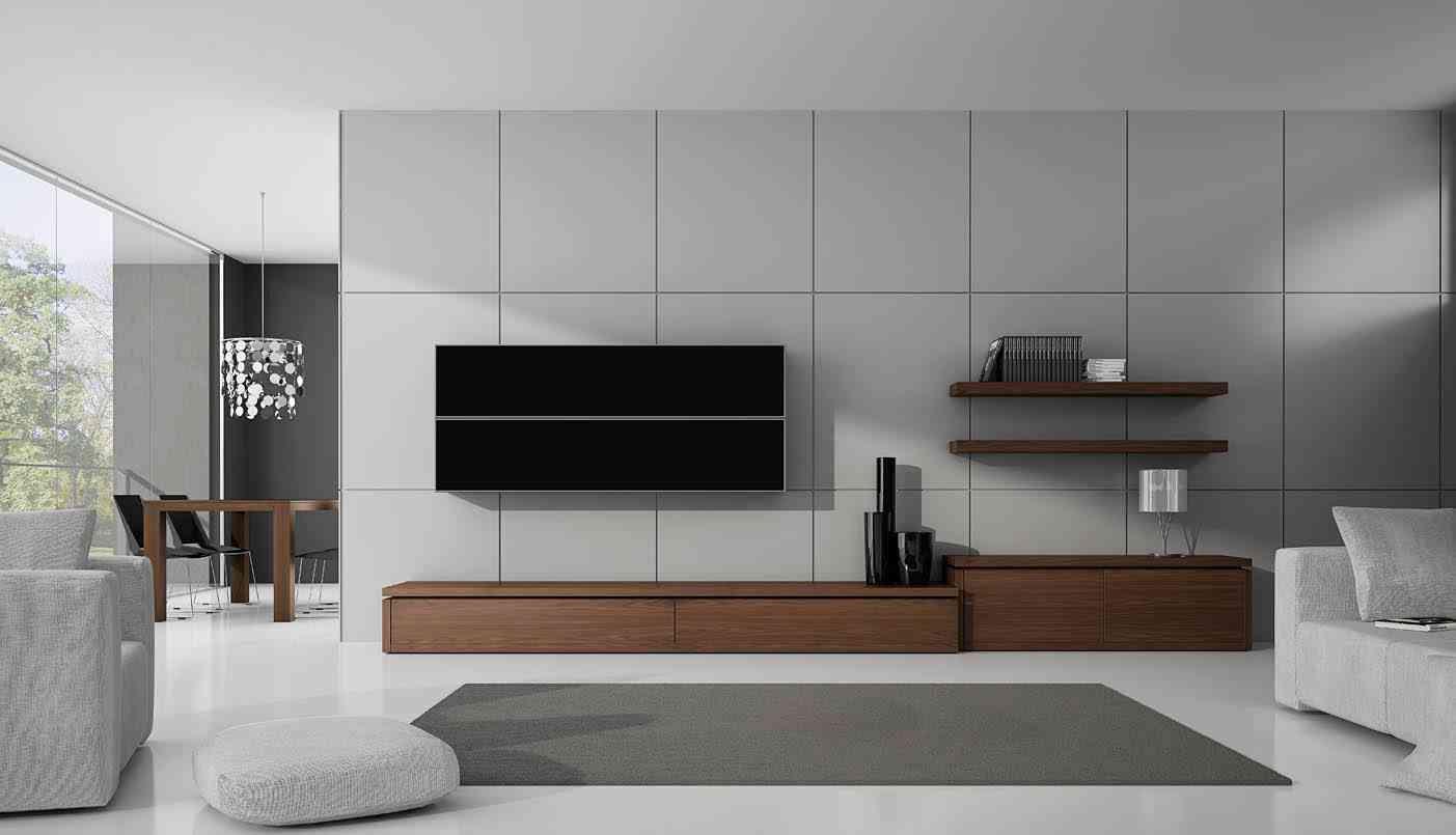 C mo vivir como una persona minimalista - Mueble salon minimalista ...