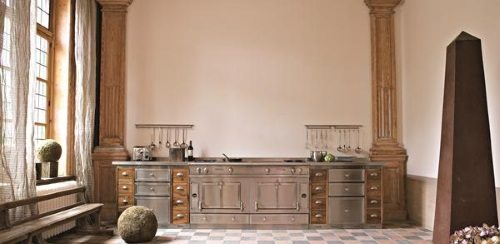 muebles de cocina de metal a medida