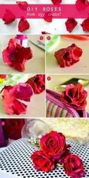 rosas recicladas