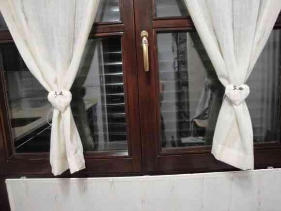 Bonitas cortinas para la cocina