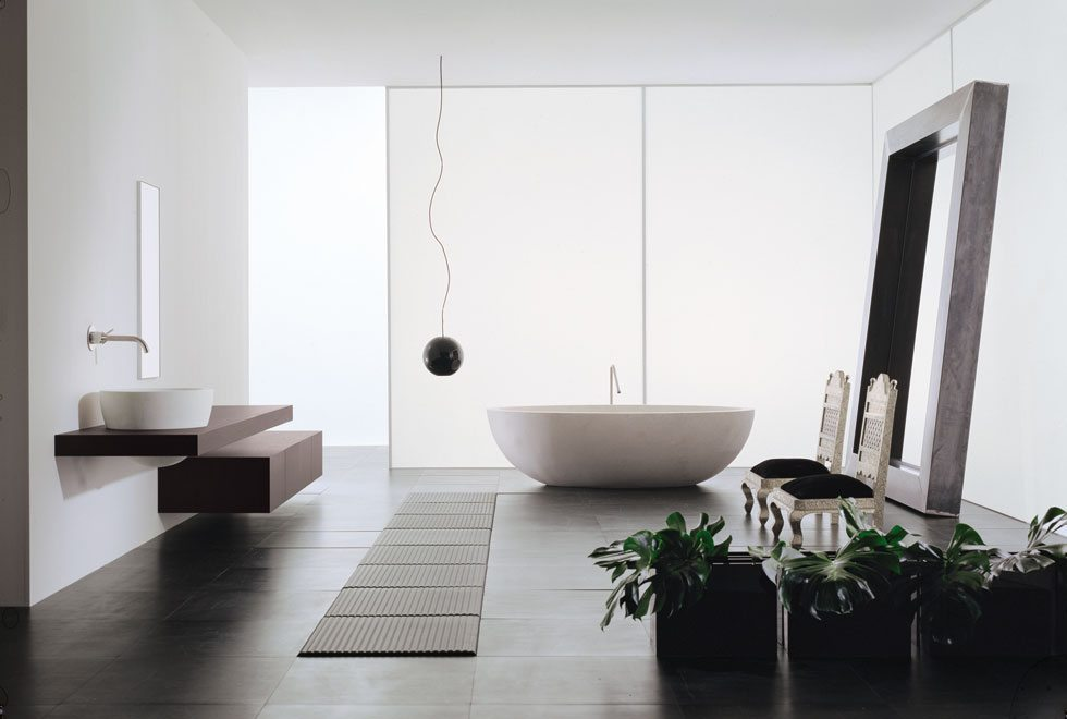 cuarto de bano moderno