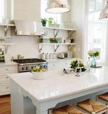 Ventajas de las cocinas en color blanco