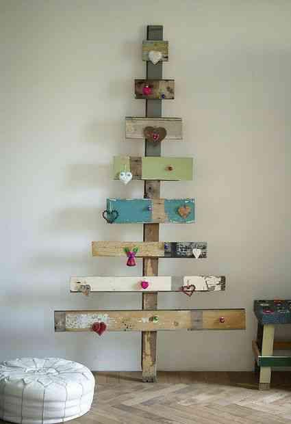 DIY - arbol de Navidad con pale