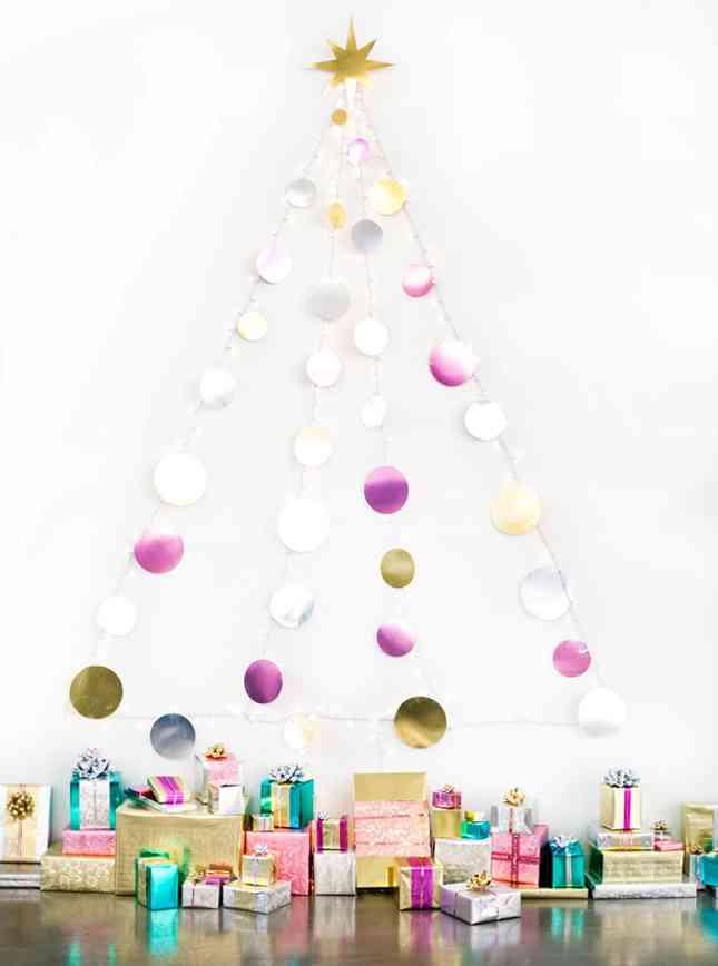 DIY - arbol de Navidad de bolas