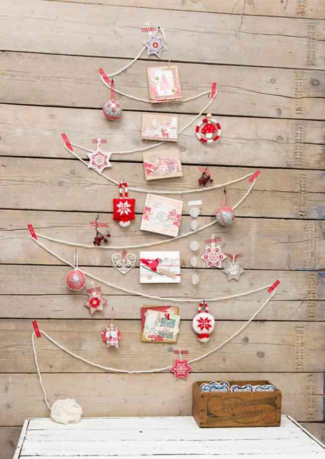 DIY - arbol de navidad de cuerda