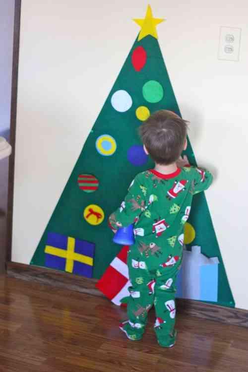 DIY - arbol de navidad de fieltro