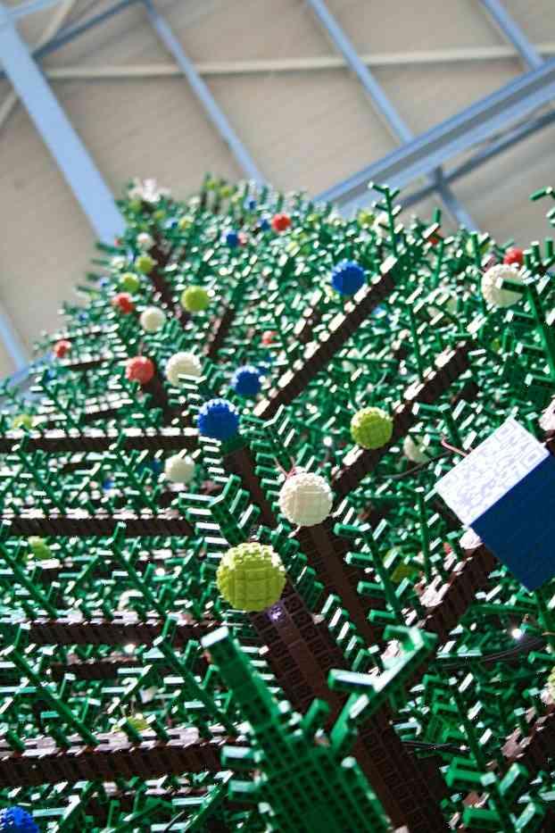 DIY - arbol de navidad de LEGO 1
