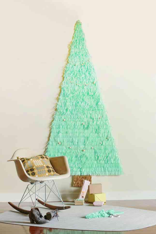 DIY - arbol de Navidad de papel