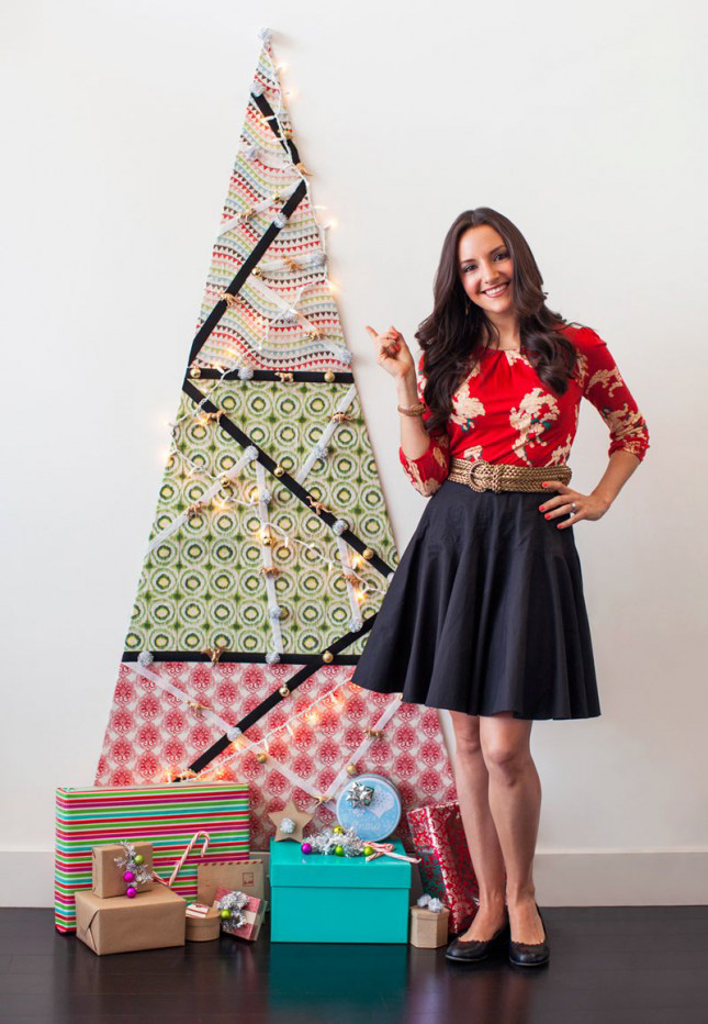 DIY - arbol de Navidad de tela