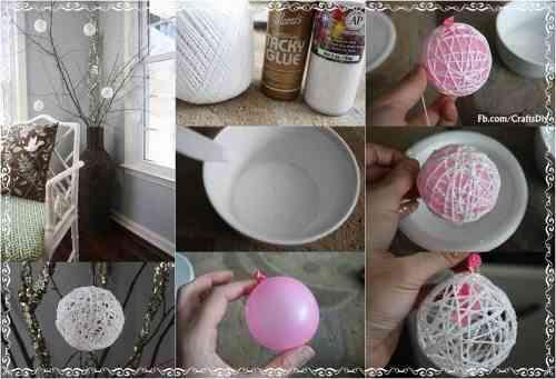 esferas de hilo