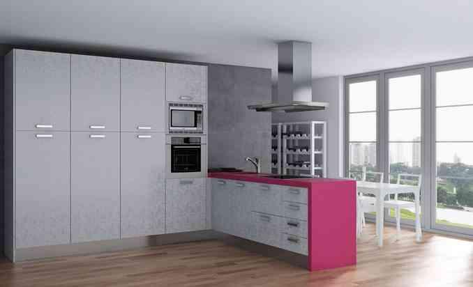 Cambia el gabinete de cocina